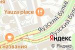 Схема проезда до компании Трансинжстрой в Москве