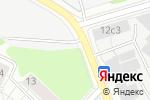 Схема проезда до компании Автостоянка на Кольской в Москве