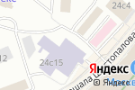 Схема проезда до компании Бухаутсорсинг в Москве