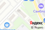 Схема проезда до компании Радуга-Свиблово в Москве