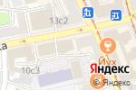 Схема проезда до компании Циферблат в Москве