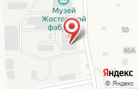 Схема проезда до компании СнаБМебель в Жостово