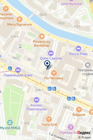 АЛЬТЕЗА на карте Москвы