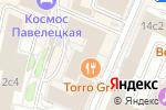 Схема проезда до компании LesOngles в Москве