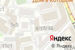Схема проезда до компании Городское кадастровое бюро в Москве