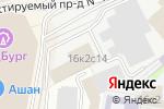 Схема проезда до компании Инфра в Москве