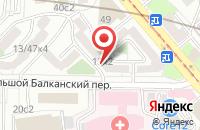 Схема проезда до компании Парус в Москве