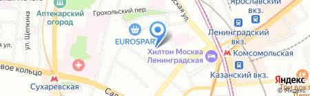 Школа ремонта на карте Москвы