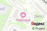 Схема проезда до компании ИнСис Проект в Москве