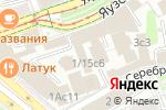 Схема проезда до компании Надежда на право в Москве