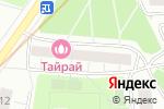 Схема проезда до компании Flower work в Москве