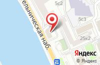 Схема проезда до компании Тк Легроинтер в Москве