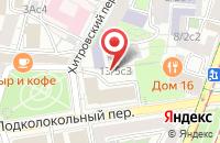 Схема проезда до компании Автомобильный Департамент «Капитал-Проект и Ко» в Москве