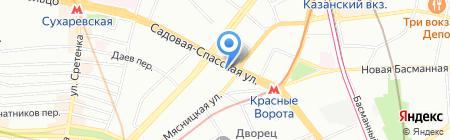 Юрма-Тур на карте Москвы