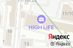 Схема проезда до компании Альфа Фикс в Москве