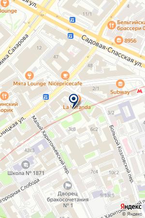 ПТФ ВОДЫ БОРЖОМИ на карте Москвы