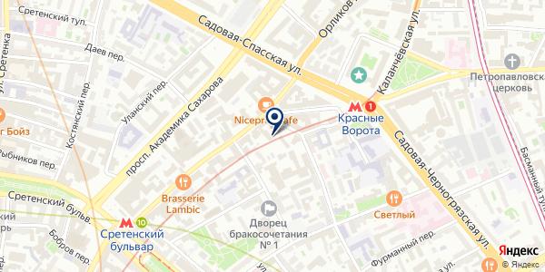 ПТФ ВОДЫ БОРЖОМИ на карте Москве