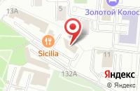 Схема проезда до компании Виста-Консалтинг в Москве