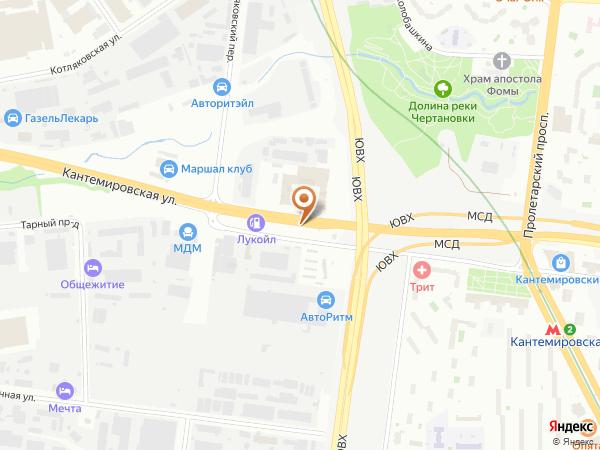 Остановка «Кантемировская ул., 59», Проектируемый проезд № 5159 (1008649) (Москва)