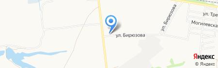 Меридиан на карте Донецка