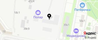 Дон-Авто на карте Москвы