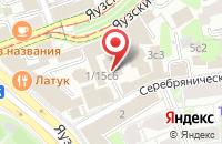 Схема проезда до компании Фабрика Имени Советской Армии в Москве