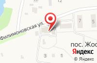 Схема проезда до компании ВирусМинус в Жостово