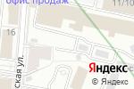 Схема проезда до компании Infort в Москве