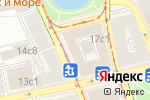 Схема проезда до компании P`Yano Bar в Москве