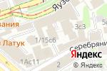 Схема проезда до компании КонтРейл в Москве