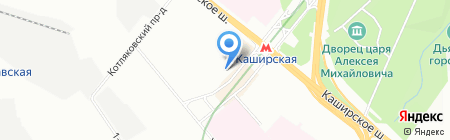 Электроника на карте Москвы