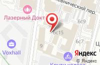 Схема проезда до компании Рекламные технологии в Москве