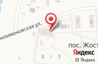 Схема проезда до компании ЗдравСити в Жостово
