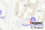Схема проезда до компании RockTape в Москве