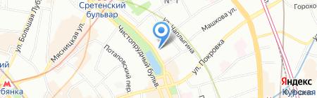 Маэрск на карте Москвы