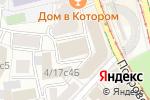 Схема проезда до компании Бюро Независимых Экспертиз в Москве