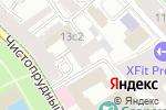 Схема проезда до компании Неф-Консалтинг в Москве