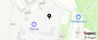 Nissandop на карте Москвы