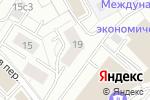 Схема проезда до компании ЕвроГарант в Москве