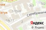 Схема проезда до компании Basilica Hotel в Москве