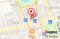 Схема проезда до компании Фарс в Москве