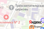Схема проезда до компании ВШЭ в Москве