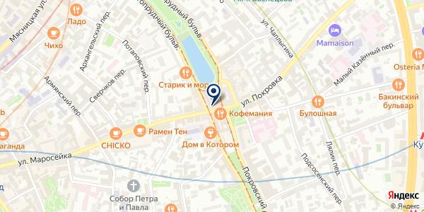 КАФЕ ЯПОНСКИЕ ДРОВА на карте Москве