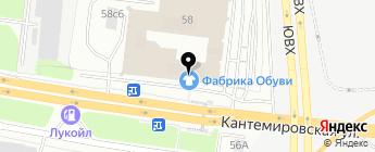 Bus Comfort на карте Москвы