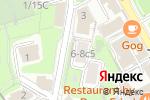 Схема проезда до компании Rina в Москве