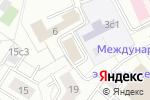 Схема проезда до компании Октава в Москве