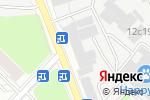 Схема проезда до компании Аква Тех в Москве