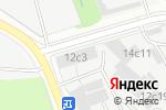 Схема проезда до компании ИКС Связь в Москве