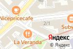 Схема проезда до компании Фигаро в Москве