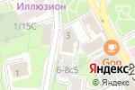 Схема проезда до компании Партнерство корпоративных адвокатов в Москве